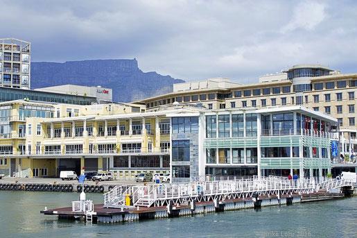 Das Nelson Mandela Gateway an der V&A Waterfront