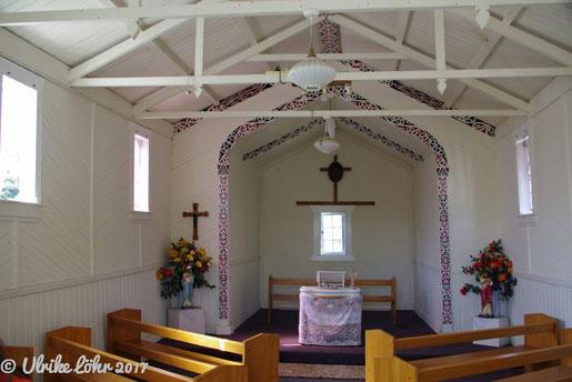 Kirche in Whakarewarewa