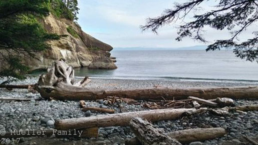 Cullite Cove auf dem West Coast Trail