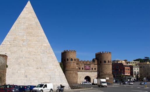 Cestius-Pyramide (Piramide Cestia)