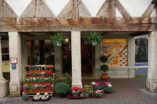 Blumenladen in Wolfenbüttel