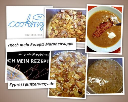 {Koch mein Rezept} Maronensuppe mit Weißwein nach Julias Rezept