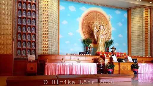 Fo Guang Shan Nan Tien Tempel: Tausendhändige Avalokitesvara