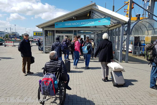 Barrierefrei Reisen nach Langeoog