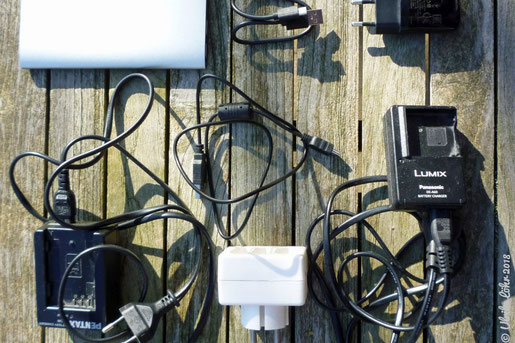 Powerbank und Ladegeräte
