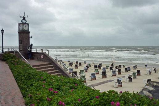 Blick auf den Strand von Wangerooge