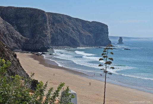 Praia de Arrifana im Alentejo (C) Frau Hibbel