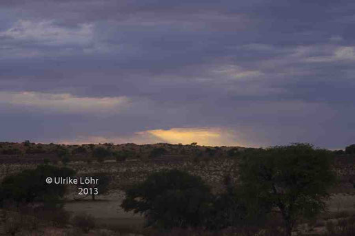 Kgalagadi Transfrontier Park: Blick vom Kalahari Tented Camp
