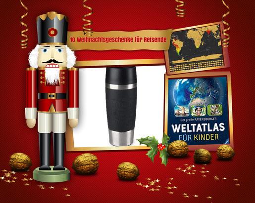 10 Geschenktipps für Reisende zu Weihnachten