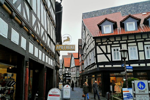 Mainzer Gasse in Alsfeld