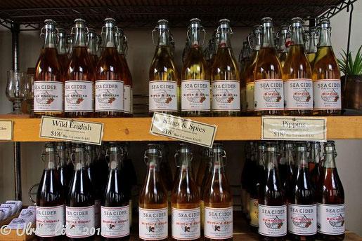 Sea Cider: verkauft wird natürlich auch