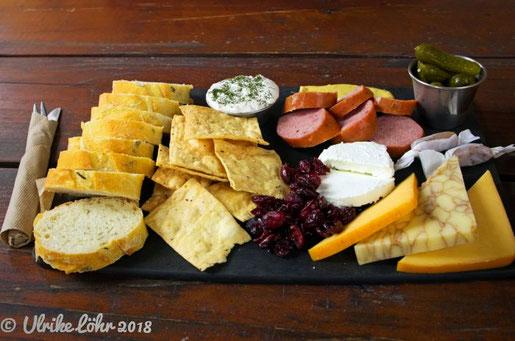 Sea Cider: unser leckeres Charcuterie Board