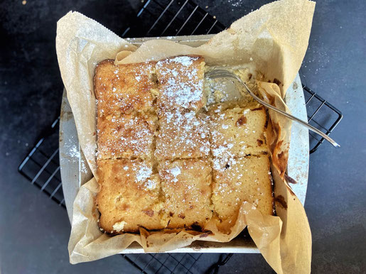 Gooey Butter Cake (C) Tracks and the City
