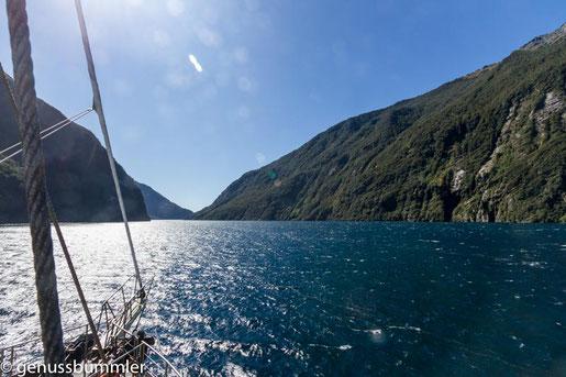 Milford Sound - Foto Ina von Genussbummler.de