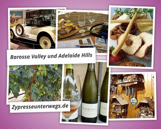 Adelaide Hills und Barossa Valley: Autos, Wein und deutsche Siedler