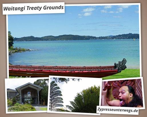 Ausflug in die Geschichte - Waitangi Treaty Grounds