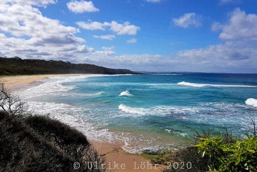 An der Küste südlich von Ulladulla, NSW