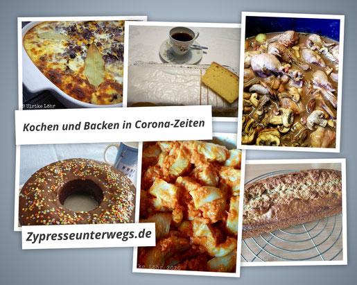 Kochen und Backen in Corona-Zeiten