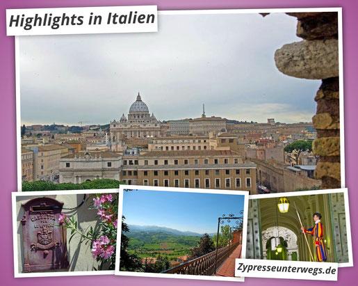 Highlights in Italien
