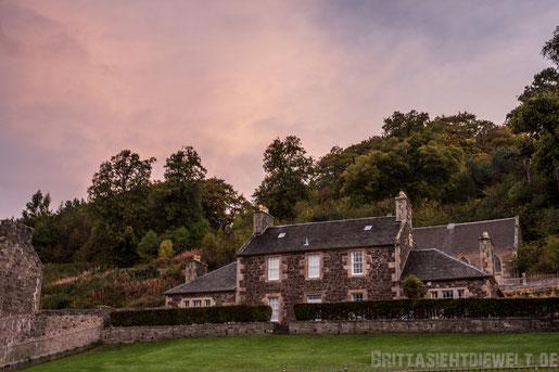 Sunrise,sonnenaufgang,New,Lanark,mill,hotel,weltkulturerbe,rosa,Tipps