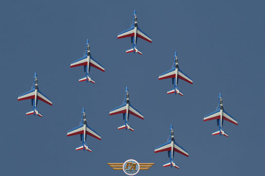 Photo 12:Patrouille de France - Cazaux 2014