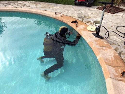 Recherche de fuites piscine aqua piscines