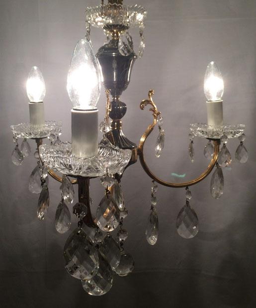 kleine kronleuchter kristall. Black Bedroom Furniture Sets. Home Design Ideas