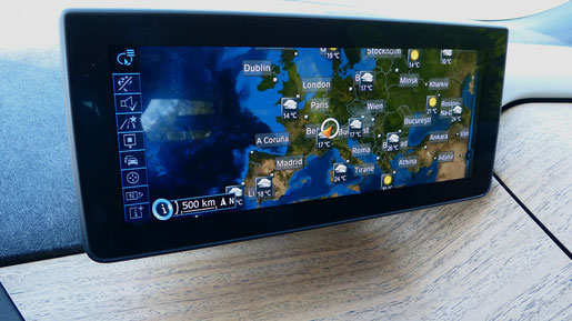 Navi Display iDrive BMW i3