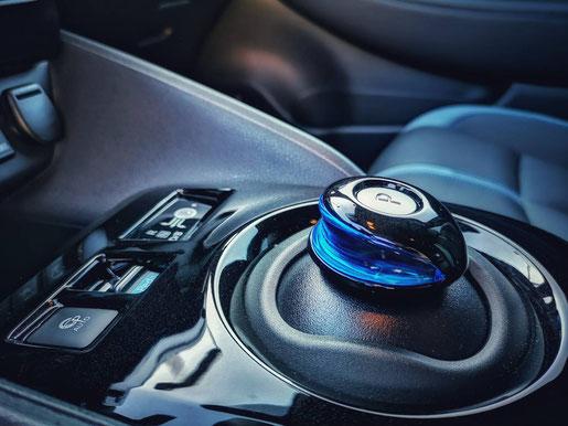 New Nissan Leaf Gangschaltung