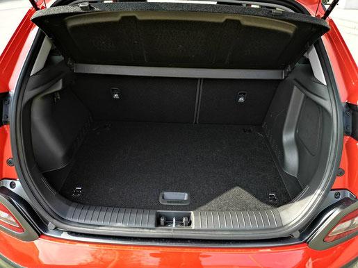 Hyundai KONA electric Kofferraum