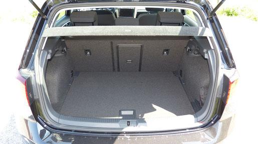 VW e-Golf Kofferraum