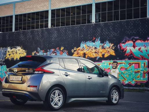 New Nissan Leaf seitlich