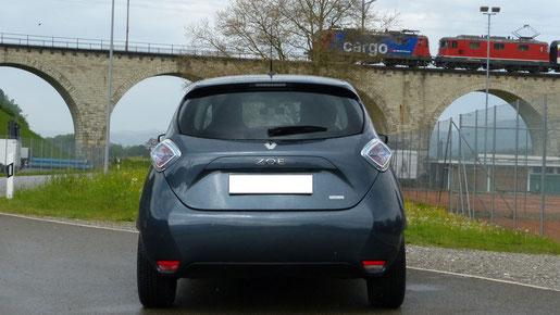 Heckansicht Renault Zoe