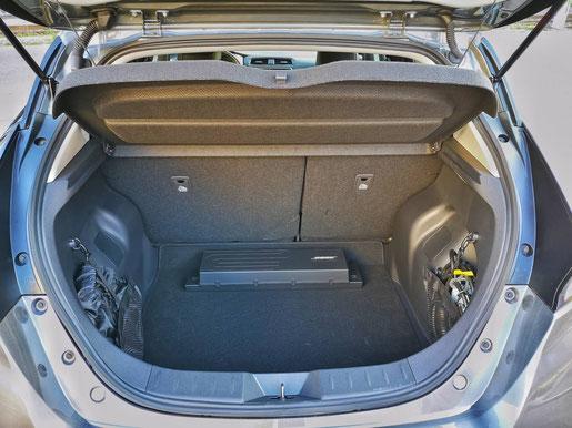 New Nissan Leaf Kofferraum