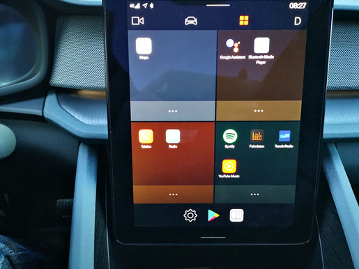 Polestar 2 Main Display Android Google