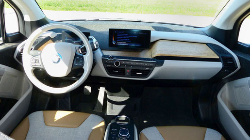 Innenraum Materialien Recycling BMW i3
