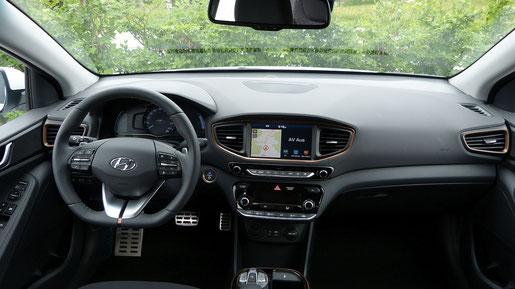 Innenraum des Hyundai Ioniq Electric