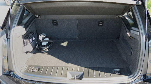 Kofferraum des BMW i3 - 260 Liter Volumen