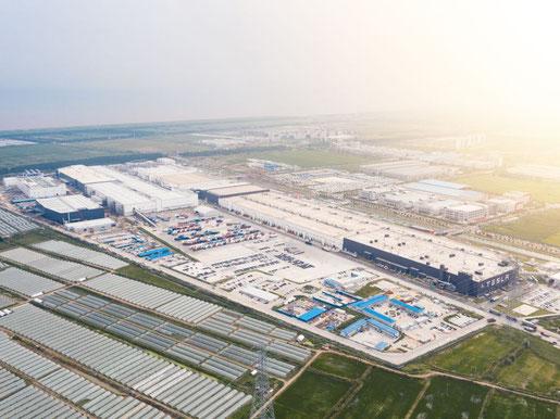 Tesla Gigafactory Shanghai / China