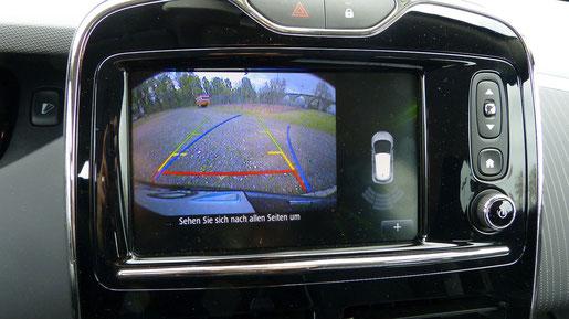 Touchscreen und Navi Renault Zoe