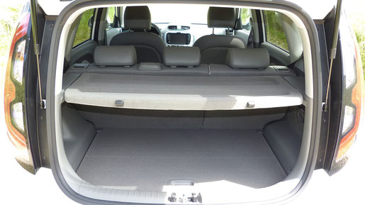 Kia Soul EV Kofferraum