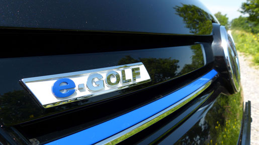 VW e-Golf Compliance Car