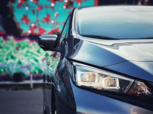 New Nissan Leaf Scheinwerfer