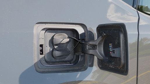 Batterie Aufladen BMW i3 CCS Typ 2