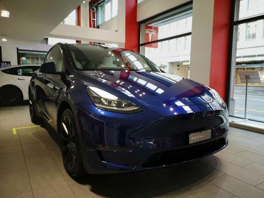 Tesla Model Y Frontansicht