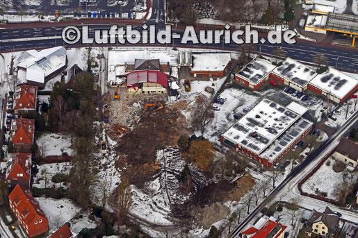 """Aurich Emder Strasse, ehemalig """"Bullenhalle"""" asa"""