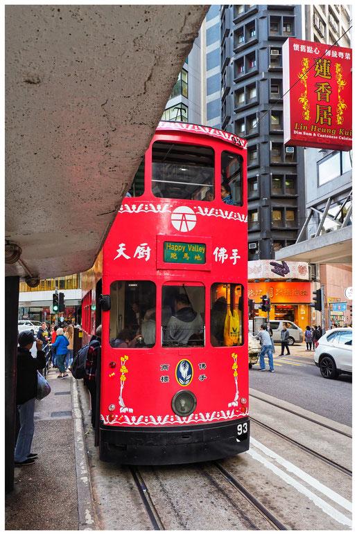 Hongkong - Ding Ding - Straßenbahn