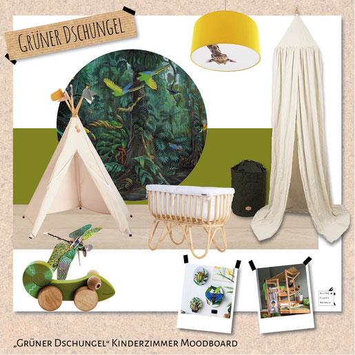 Dschungel-Kinderzimmer