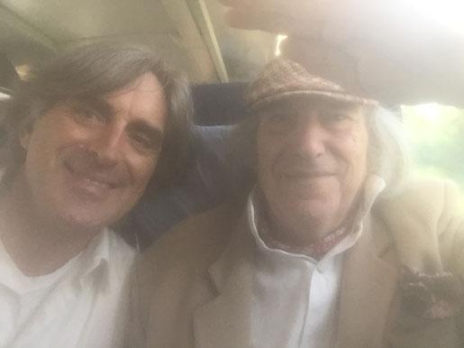 Vater und Sohn mittlerweile im ICE Richtung Kassel