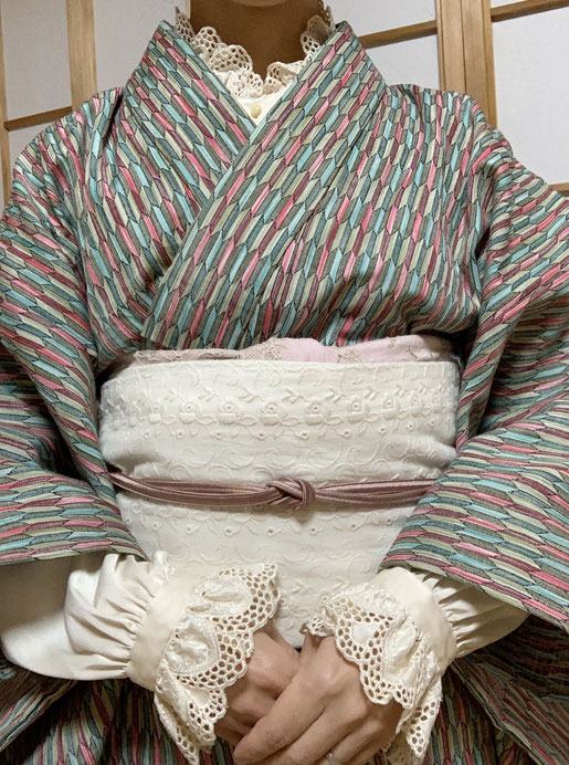 着物 ウール着物 kimono
